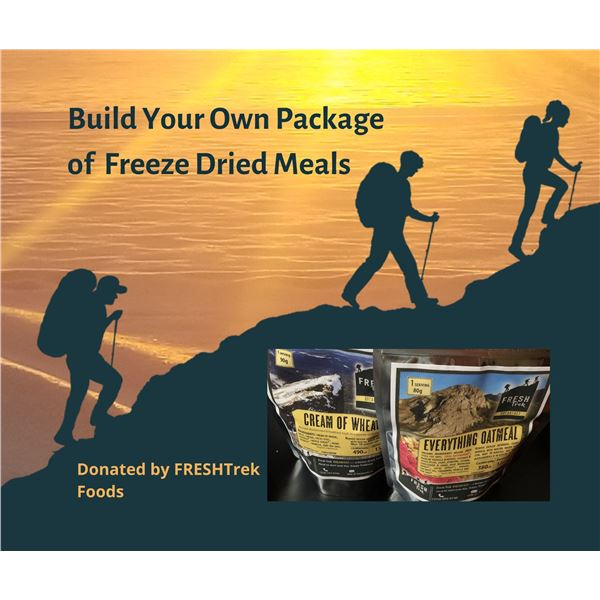 BC grown and owned freeze dried meals Gift Certificate