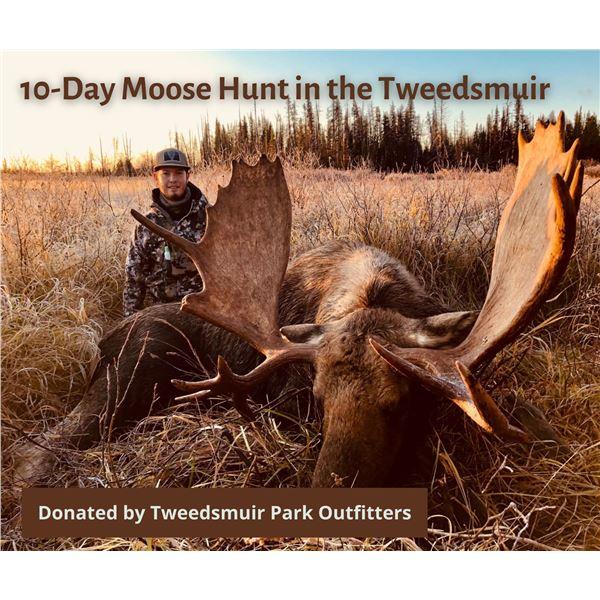 10-Day Moose Hunt in Tweedsmuir