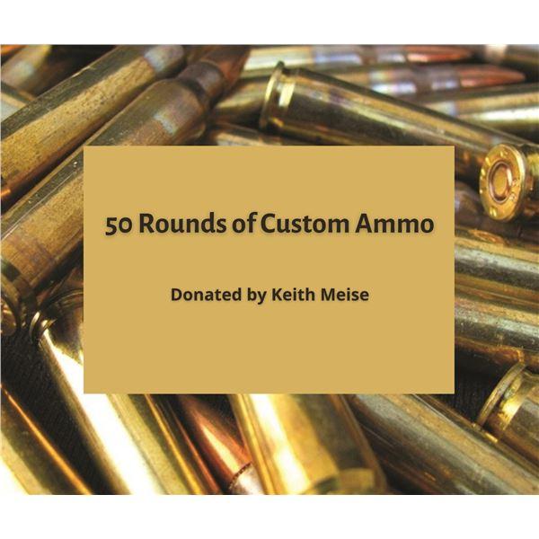 Custom Ammo Load Preparation Certificate