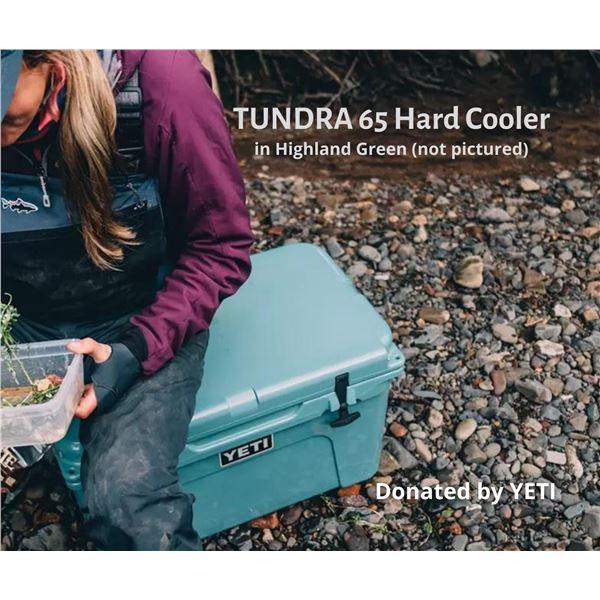 Tundra 65 hard cooler (Highlands Olive)