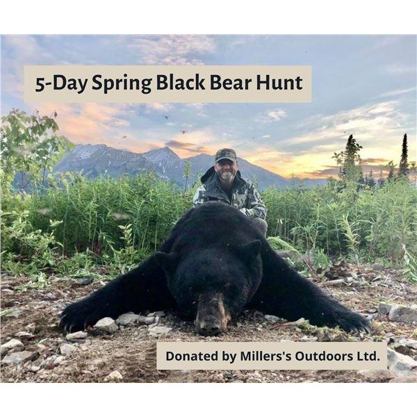 5-Day Spring Black Bear Hunt