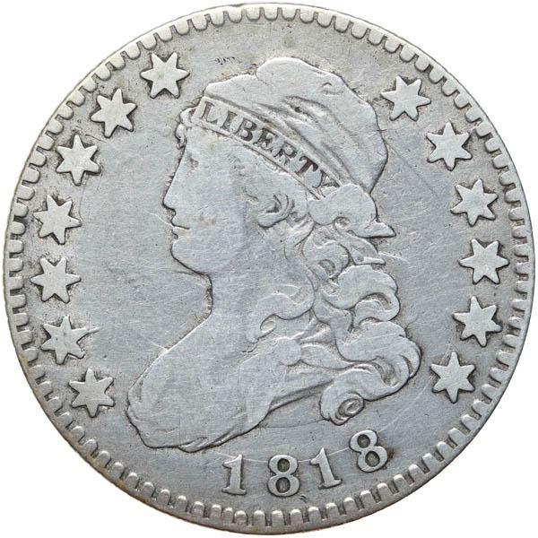 1818 Bust 25c