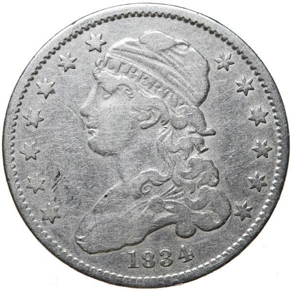 1834 Bust 25c