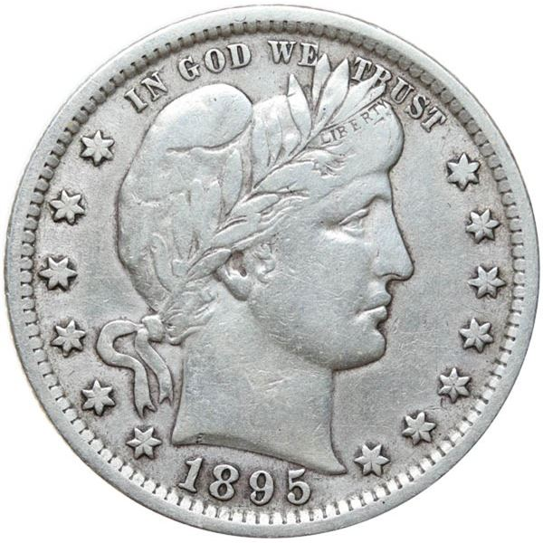 1895 Barber 25c