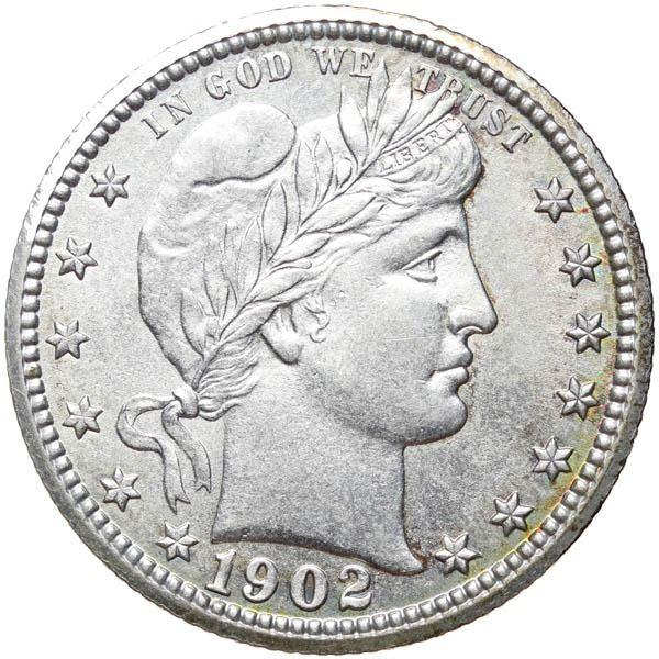 1902 Barber 25c