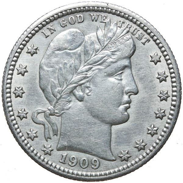1909 Barber 25c
