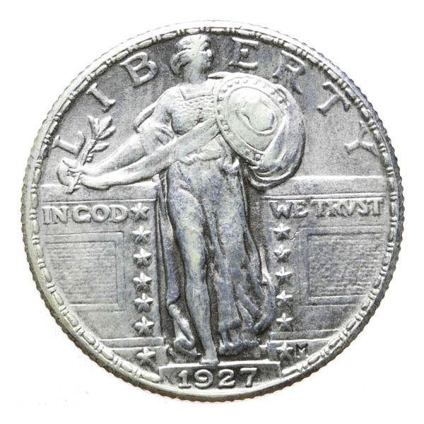 1927 Liberty Standing 25c