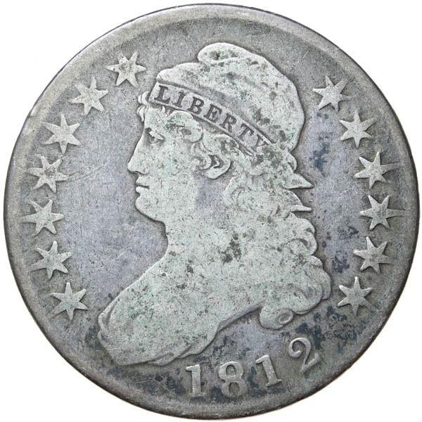 1812/1 Bust 50c. Sm 8