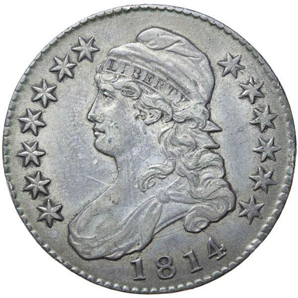 1814 Bust 50c