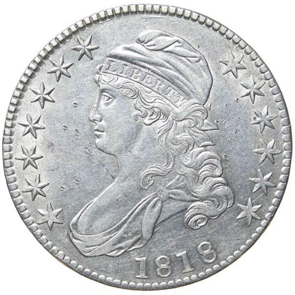 1818 Bust 50c
