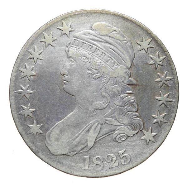 1825 Bust 50c