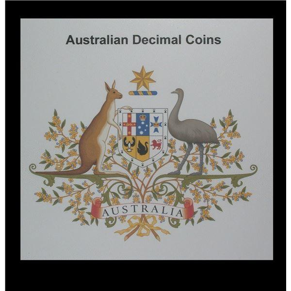 Australia Lot of 173 Decimal Coins, 1967-2010