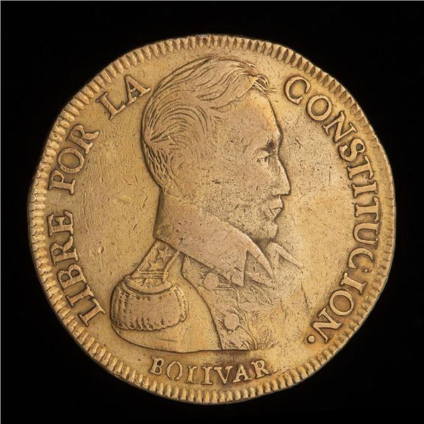 Bolivia Gold 8 Escudos 1834