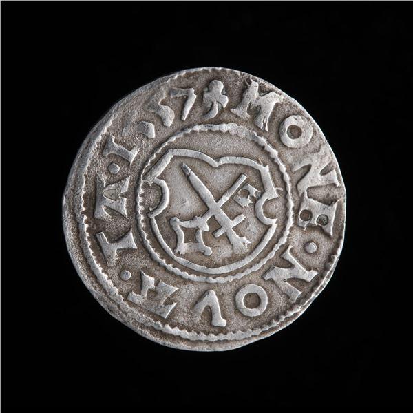 Estonia, Dorpat - Silver Farthing 1557