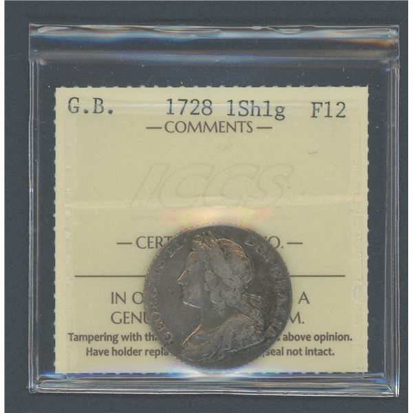 Great Britain Shilling 1728