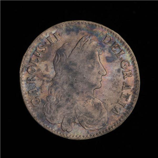Great Britain Half Crown 1670 - Charles II
