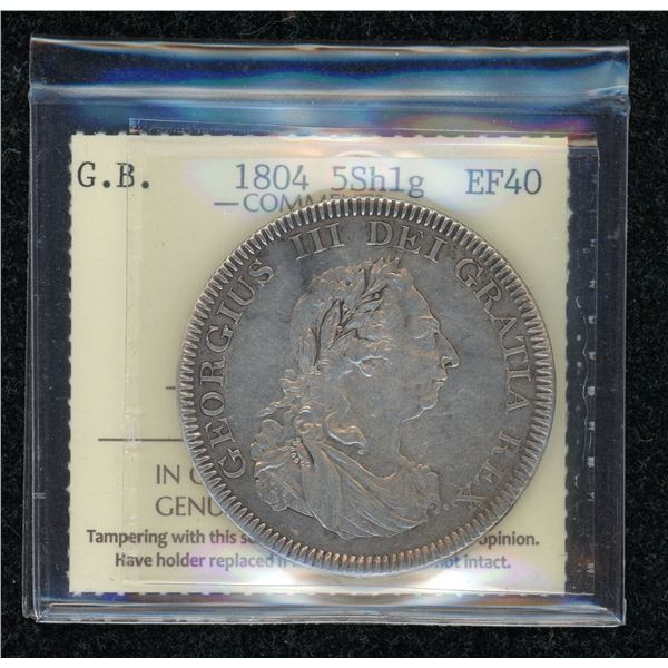 Great Britain 5 Shillings 1804