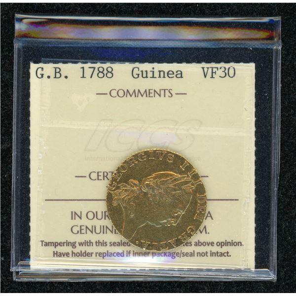 Great Britain Guinea 1788
