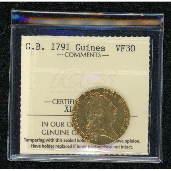 Great Britain Guinea 1791