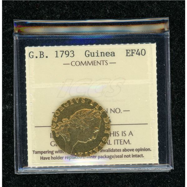 Great Britain Guinea 1793