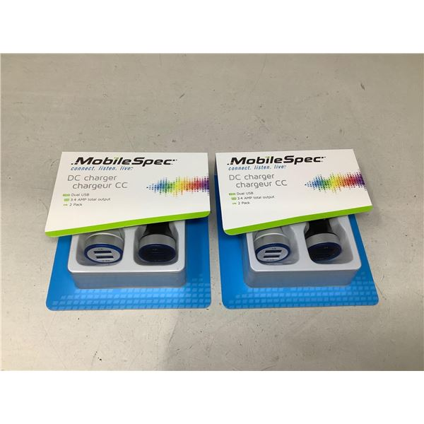 Mobile Spec DC Charger Lot Of 2