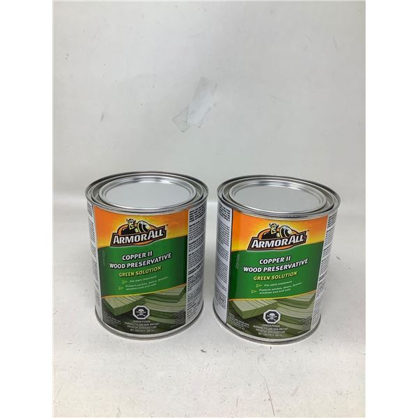 ArmorAll Copper II Wood Preservative Green Solution (2 X 946ML)