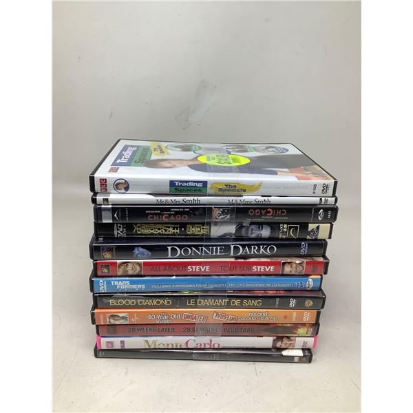 Lot Of 12 Assorted DVD's