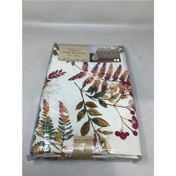 Harvest Fern Vinyl Tablecloth