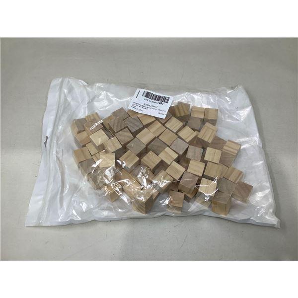 100 Piece Wooden Squares