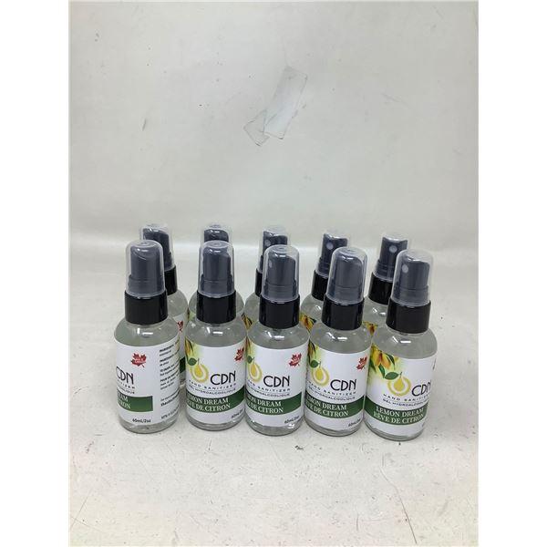 CDN Lemon Dream Hand Sanitizer (10 X 60ML)