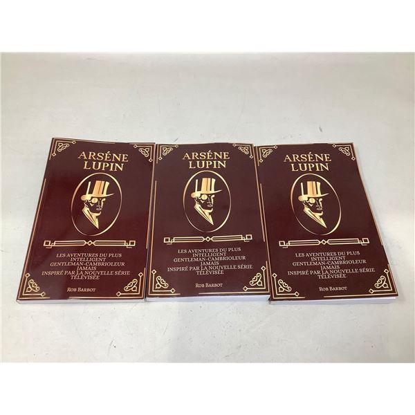 Arsene Lupin Books Lot Of 3
