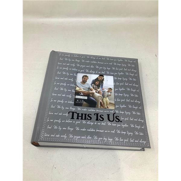 """""""This Is Us"""" Photo Memory Book"""
