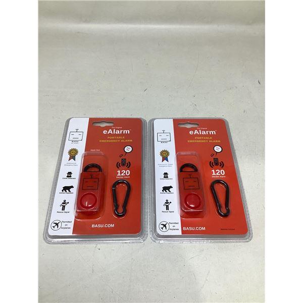 EAlarm Portable Emergency Alarm Lot Of 2