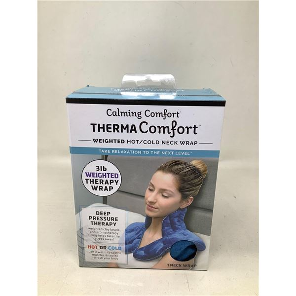 Therma Comfort Weighted Hot Cold Neck Wrap
