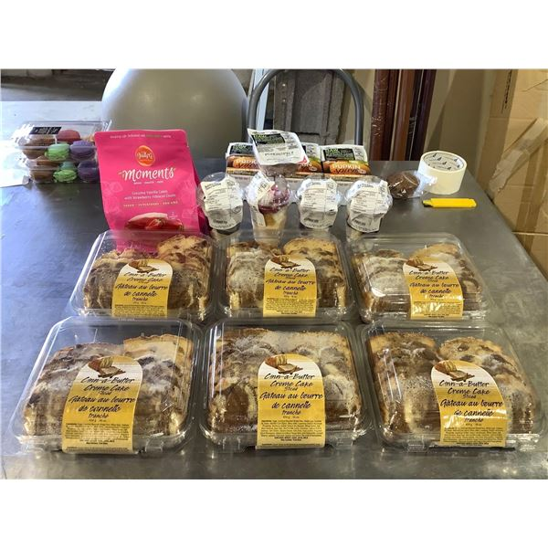 Frozen Cakes and Parfaits Lot of 13