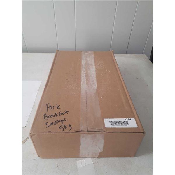 Case of Frozen Pork Sausages (5kg)