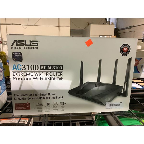 Asus AC3100 RT-AC3100 Extreme Wi-Fi Router