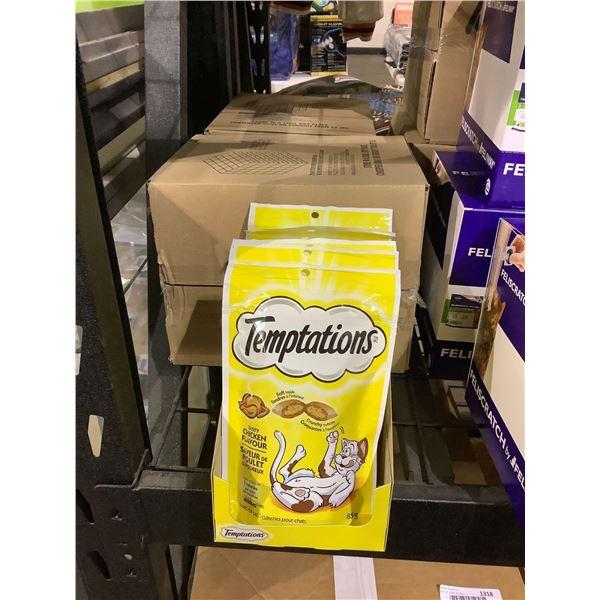 Case of Temptations Tasty Chicken Cat Treats (12 x 85g)