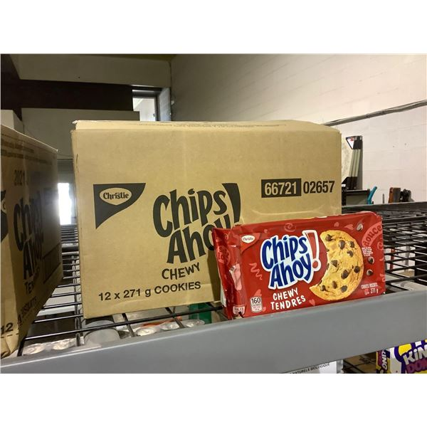 Case of Chips Ahoy Chewy Chocolate Chip Cookies (12 x 271g)
