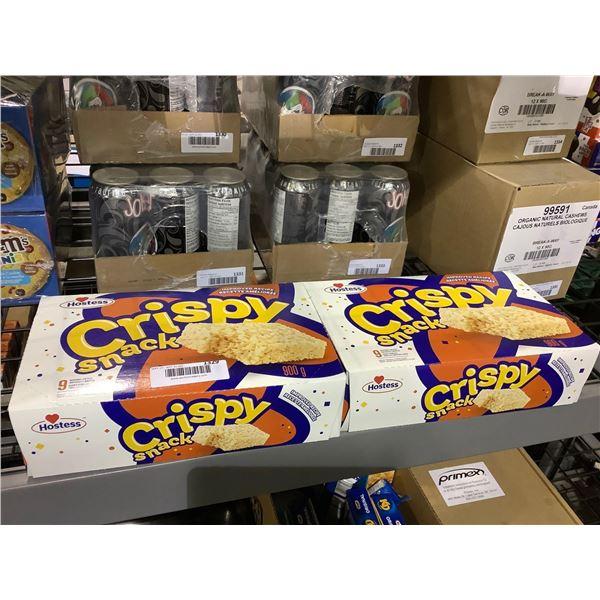 Hostess Crispy Snack Marshmallow Bars (2 x 900g)