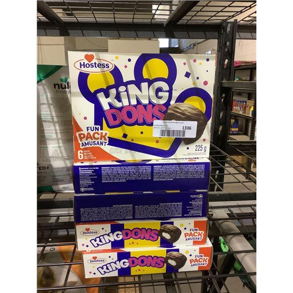 Hostess King Dons Cakes (5 x 225g)