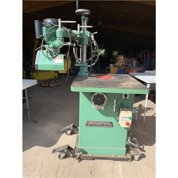 GENERAL INTERNATIONAL SHAPER; INCLUDES POWER FEEDER AND FENCE