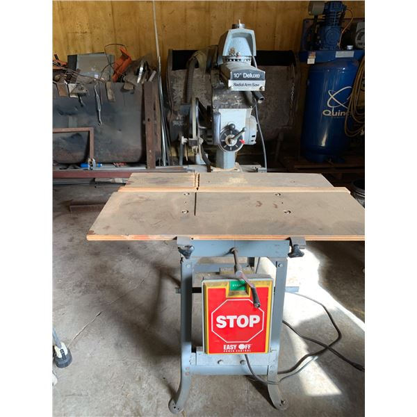 ROCKWELL 10-INCH DELUXE RADIAL ARM SAW