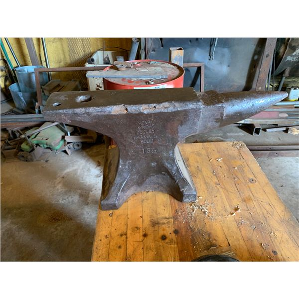 ANVIL; HENRY WRIGHT DUDLEY 135