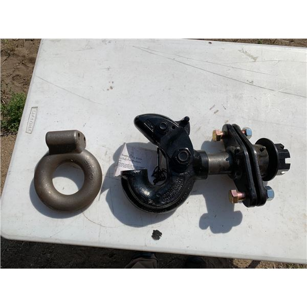 PINTLE HITCH; HOOK AND EYE/RING