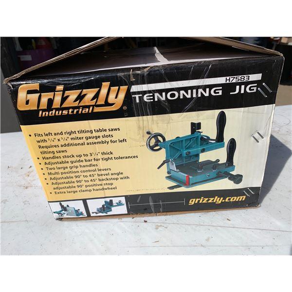 GRIZZLY TENONING JIG; NIB