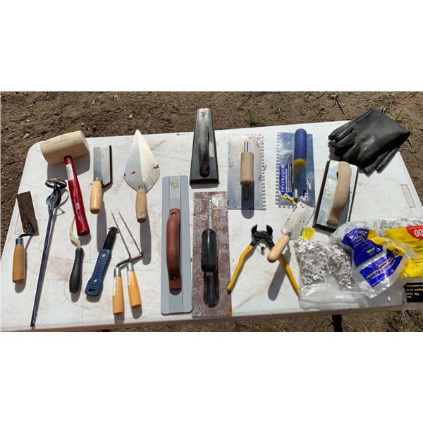GROUT & TILE TOOLS