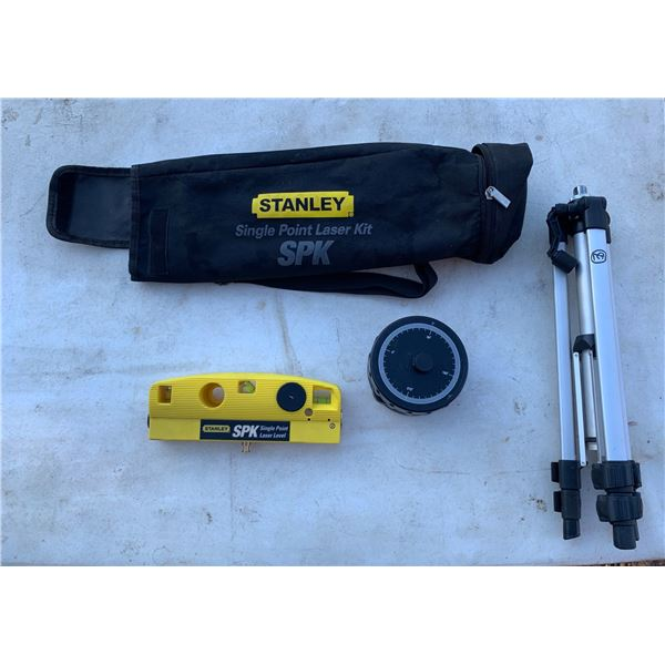 STANLEY SINGLE POINT LASER WITH TRIPOD