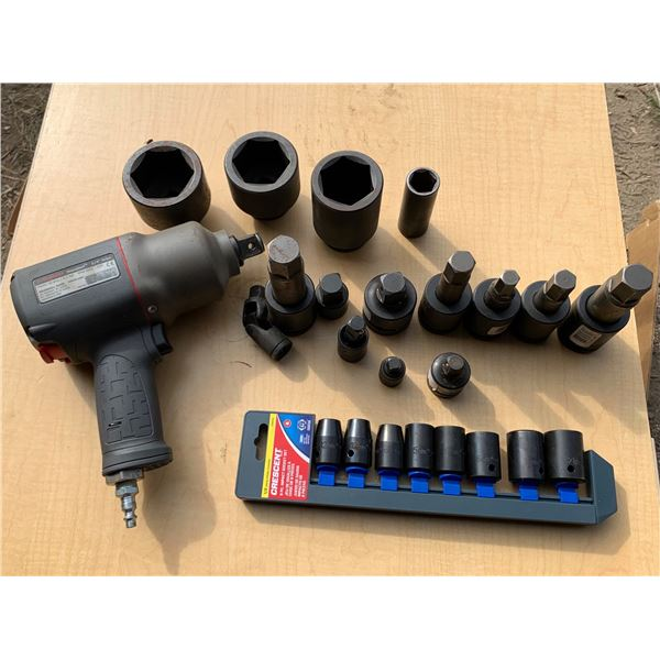 IMPACT WRENCH AND SOCKETS