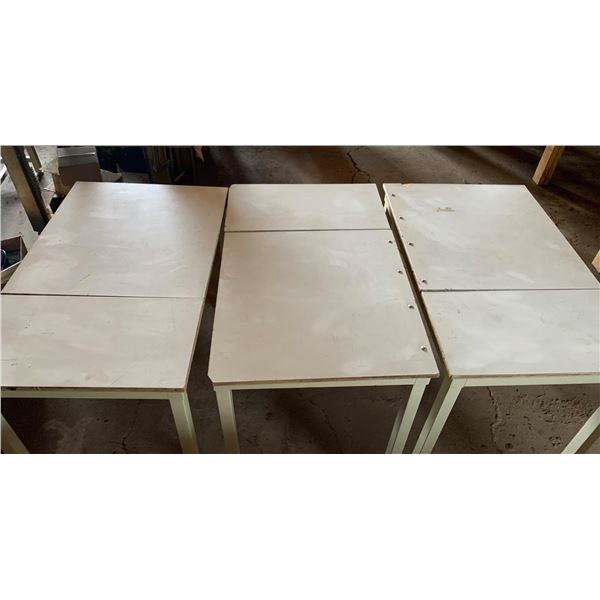 3-2 FT X 3 FT ADJUSTABLE HEIGHT DRAFTING TYPE TABLES